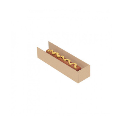 Pala-para-hot-dog-carton-kraft-marron