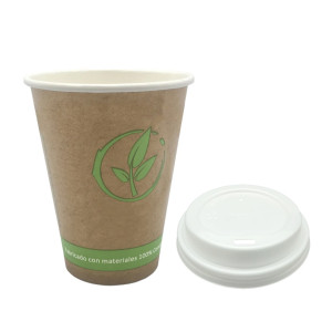 Vaso-papel-kraft+pla-compostable-240ml.-para-cafe-con-tapa-pla